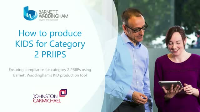 How to produce KIDS for Category 2 PRIIPS