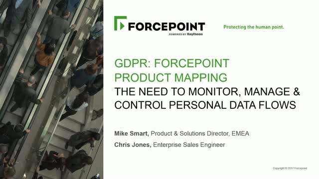 GDPR Product Mapping: The Need to Monitor, Manage and Control Personal Data Flow