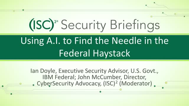 IBM Part 1 - Using A I  to Find the Needle in the Federal Haystack