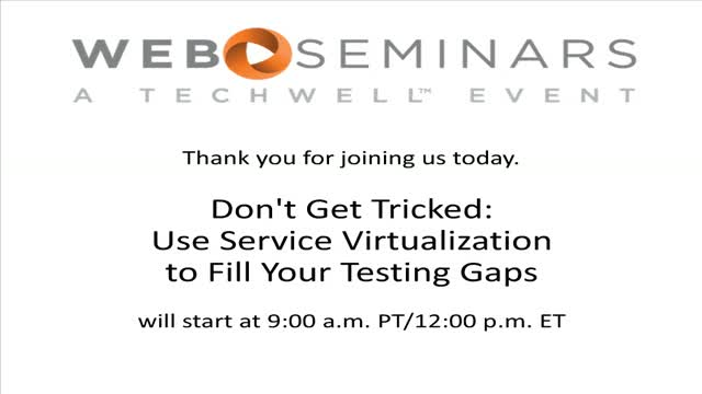 Don't Get Tricked: Use Service Virtualization to Fill Your Testing Gaps