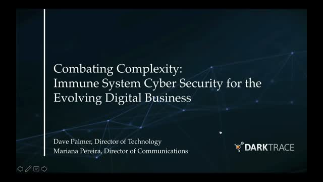 Combating Complexity: Immune System Cyber Security for the Evolving Network