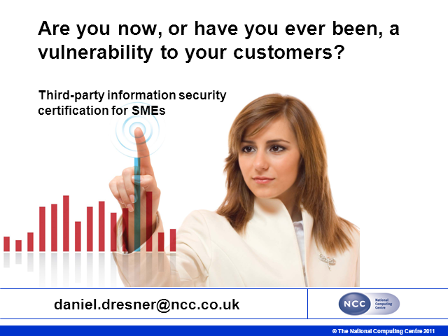Are you or Have you Ever Been a Vulnerability to your Customers?