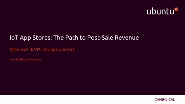 Appstores: The Path To IoT Revenue Post-sale