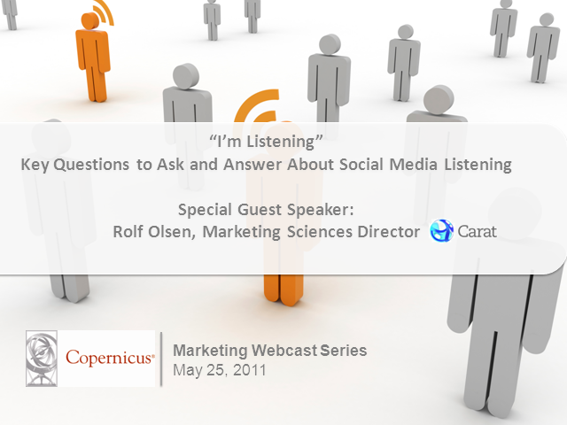 """I'm Listening"": Key Questions to Ask and Answer About Social Med"