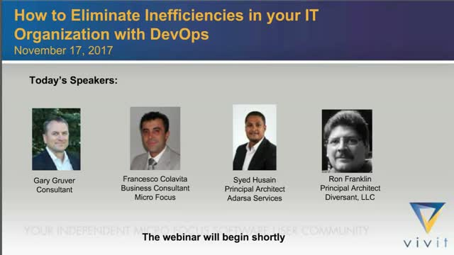 How to Eliminate Inefficiencies in Your IT Organization with DevOps