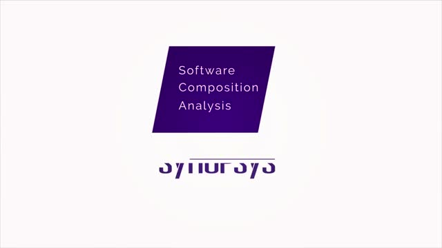 Software Composition Analysis from Synopsys