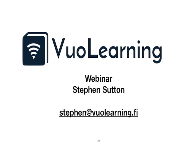 VuoLearning Product Demo