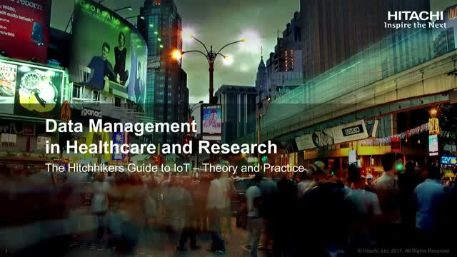 Data Management in Healthcare & Research