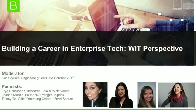 Building a Career in Enterprise Tech: A Women in Tech Perspective