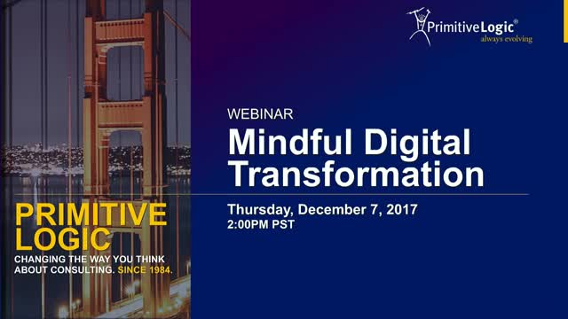 Mindful Digital Transformation