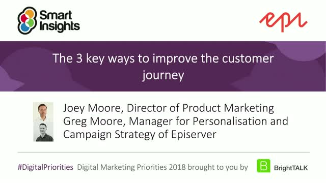 The 3 key ways to improve the customer journey