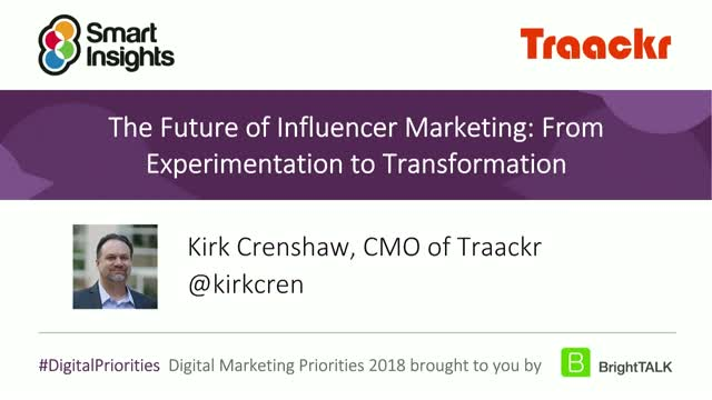 The Future of Influencer Marketing: From Experimentation to Transformation