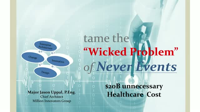 "Tame the ""Wicked Problem"" of Never Events"