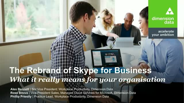 The Rebrand of Skype for Business – what it really means for your organisation