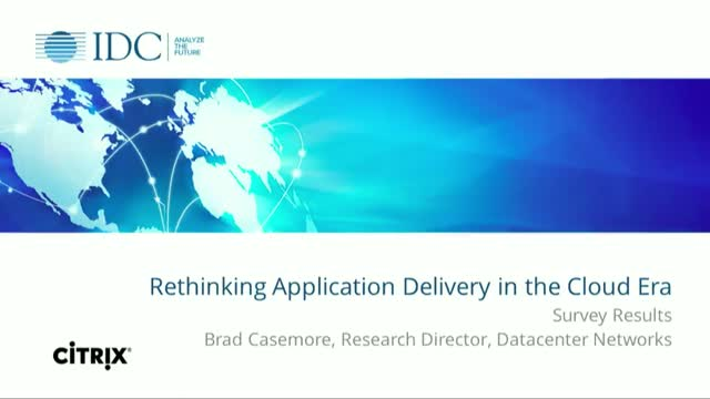 Rethinking Application Delivery in the Cloud Era