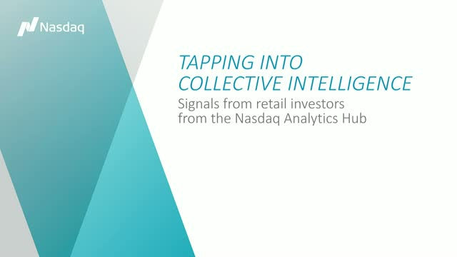 Tapping into Collective Intelligence; Signals from Retail Investors