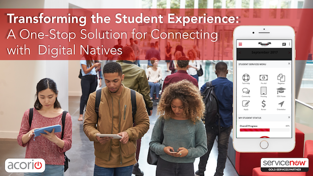 Transforming the Student Experience: A One-Stop Solution for Digital Natives