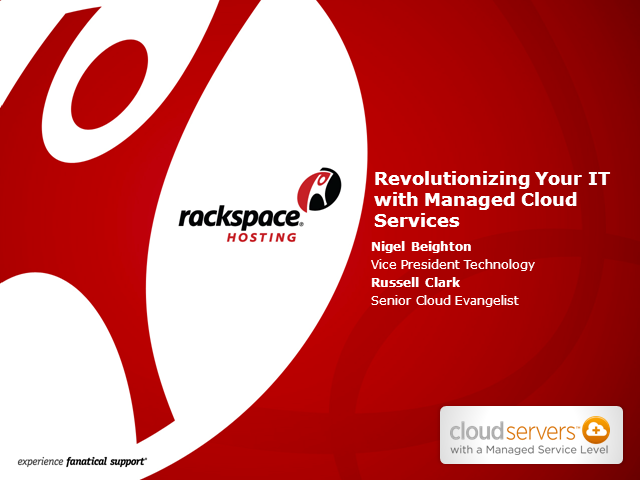 Revolutionizing Your IT with Managed Cloud Services