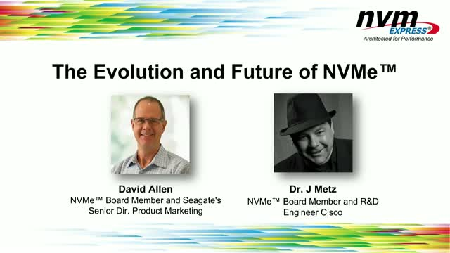 The Evolution and Future of NVMe