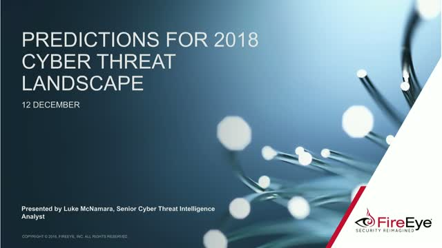 Security Predictions for 2018