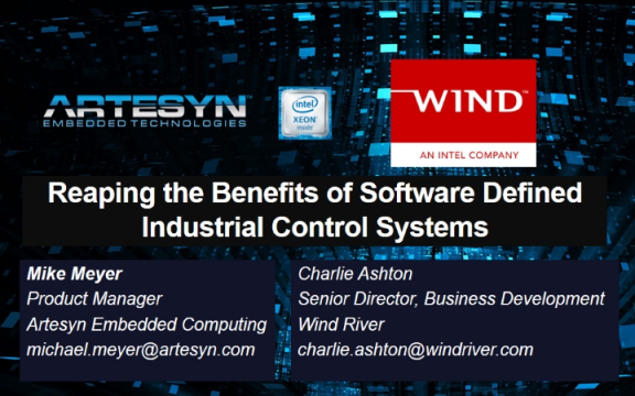 Reaping the Benefits of Software Defined Industrial Control Systems