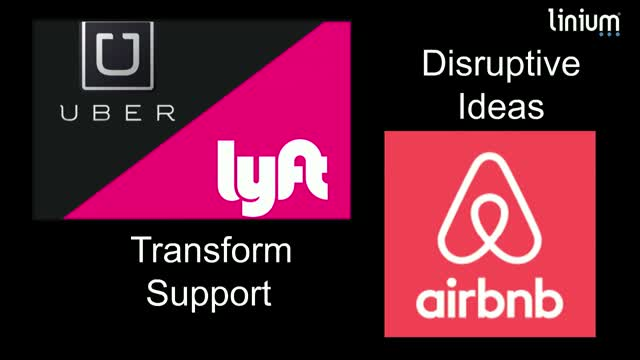 Disruptive Ideas Transform Support