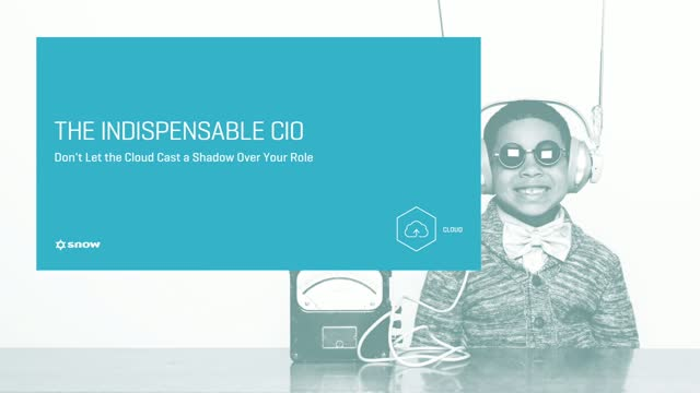 The Indispensable CIO: Don't Let the Cloud Cast a Shadow Over Your Role