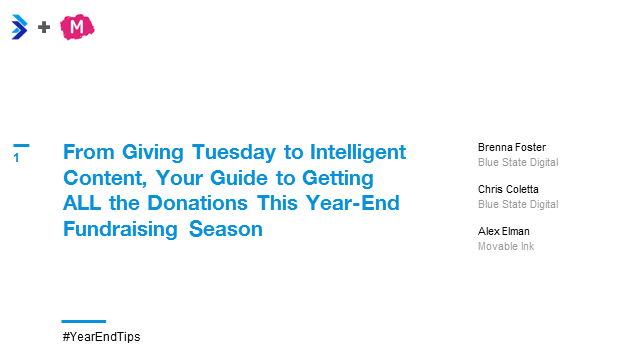 From Giving Tuesday to Intelligent Content: Your Year-End Fundraising Guide