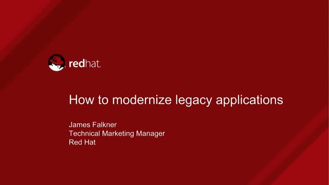 How to Modernize Legacy Applications