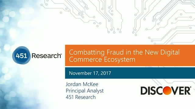 Combatting Fraud in the New Digital Commerce Ecosystem