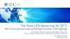 The Pulse of Outsourcing 2H 2017: IDC's Semiannual Look at Rolling 4-Quarter Dea