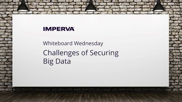 Video: Challenges of Big Data Security