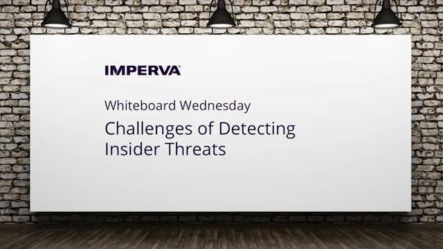 Video: Challenges of Insider Threat Detection
