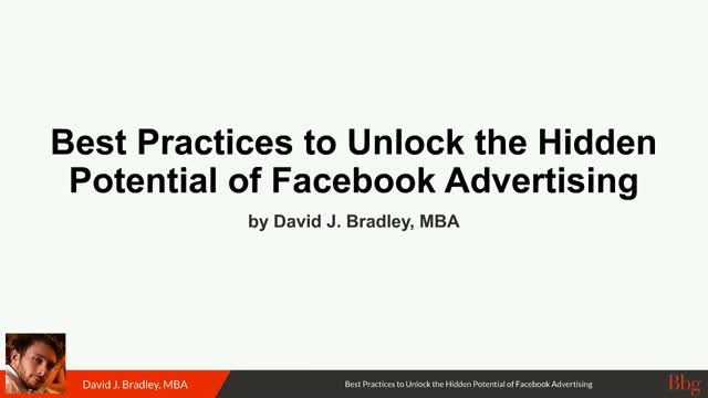 Best Practices to Unlock the Hidden Potential of Facebook Advertising