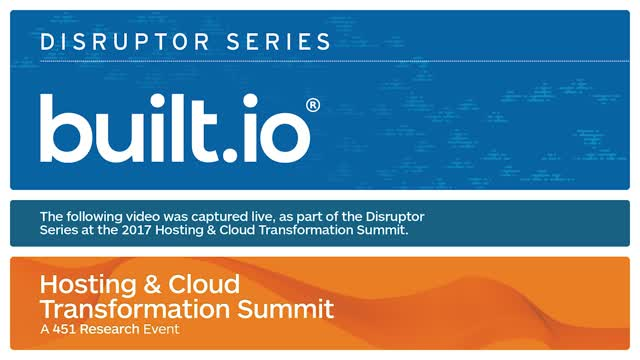 HCTS 2017 Disruptor: Built.io