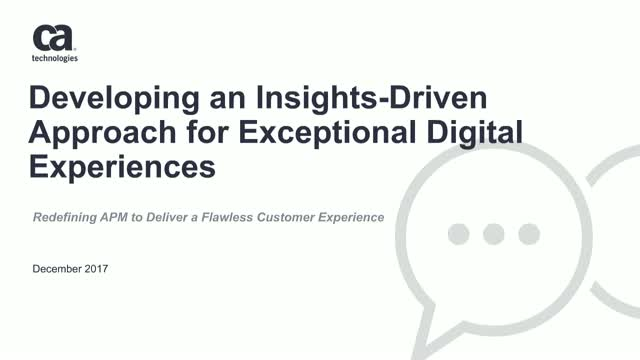 Developing an Insights-Driven Approach for Exceptional Digital Experiences