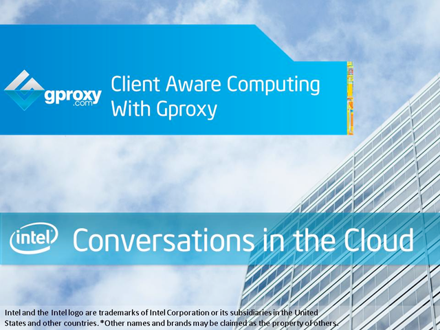 Client Aware Computing with Gproxy