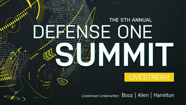 Defense One Summit Livestream 2017 Afternoon Sessions