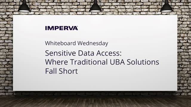 Video: Sensitive Data Access: Where Traditional UBA Solutions Fall Short