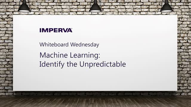 Video: Machine Learning: Identify the Unpredictable