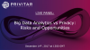 Big Data Analytics vs Privacy: Risks and Opportunities