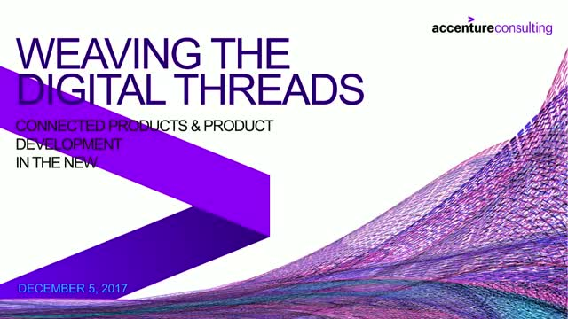 Leveraging the Digital Thread for Competitive Advantage & New Sources of Revenue