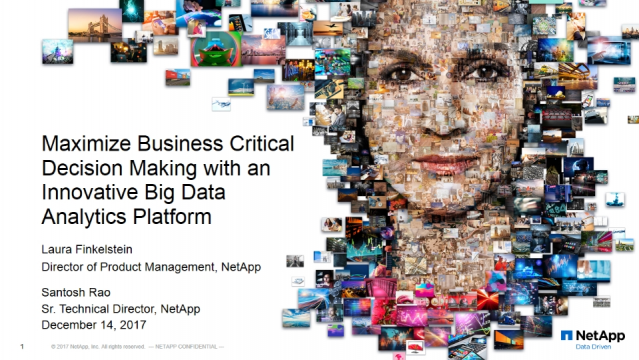Maximize Business Critical Decision Making with an Innovative Big Data Platform