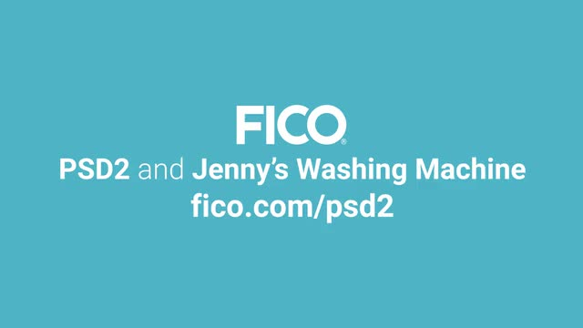 PSD2 and Jenny's Washing Machine