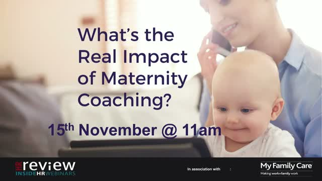 What's the real impact of Maternity Coaching?