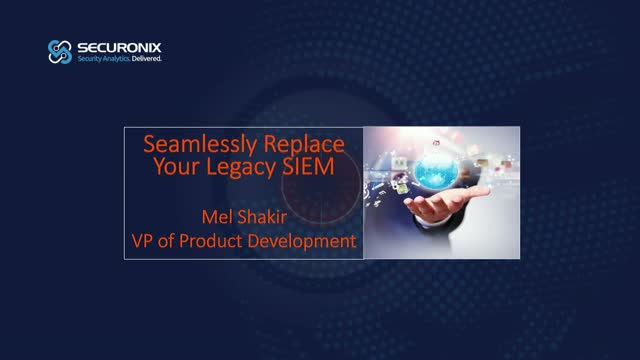 Seamlessly Replace Your Legacy SIEM