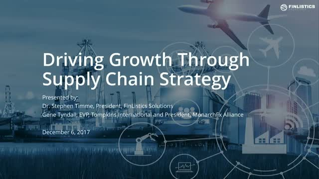 Driving Growth Through Supply Chain Strategy