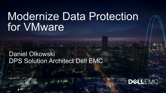 Modernize your Data Protection for VMware