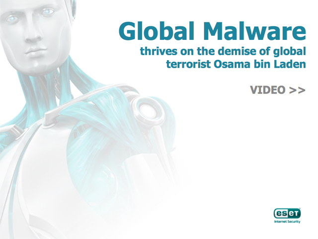 VIDEO: Global malware thrives on demise of global terrorist