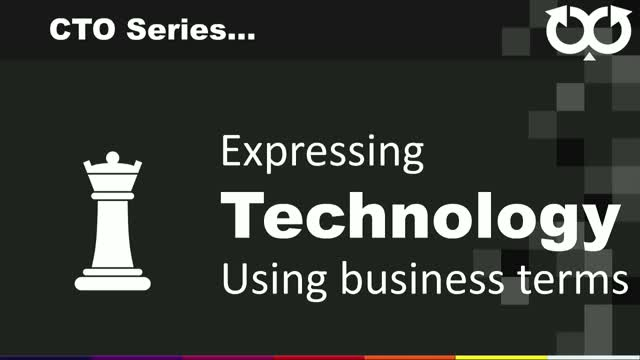 Expressing technology using business terms